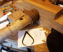 The spindle is tested on the nut, the process worked as expected.
